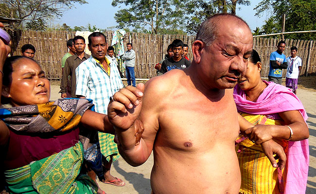 Congress Leader In Assam Accused Of Rape, Beaten By Villagers Publicly